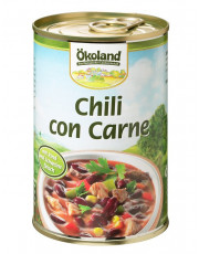 Ökoland, Chili con Carne, hefefrei, 400ml Dose
