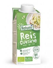 Natumi, Reis Cuisine, 8% Fett, glutenfrei, 200ml Tetra Pack