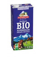 Berchtesgadener Land, Haltbare Alpen-Milch 1,5%, 1 l Tetra Pack