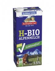 Berchtesgadener Land, Lactosefreie Haltbare Kuhmilch, 1,5% Fett, Gebinde 12x 1l Tetra Pack
