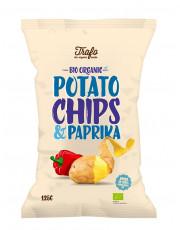 Trafo, Kartoffelchips mit Paprika, 125g Packung