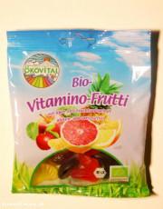 Ökovital, Bio-Vitamino-Frutti, glutenfrei, 100g Packung