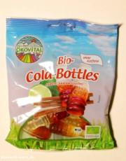 Ökovital, Bio-Cola-Bottles, mit bio Gelatine, ohne Koffein, glutenfrei, 100g Packung