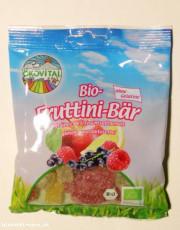 Ökovital, Bio-Fruttini-Bär, ohne Gelatine, glutenfrei, 100g Packung