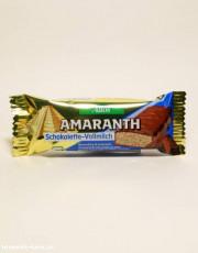 Allos, Amaranth - Schokolette-Vollmilchriegel, 25g Stück