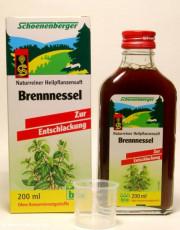 Schoenenberger, Brennnessel-Saft, 200ml Flasche