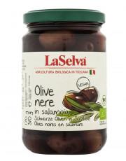 La Selva, Schwarze Oliven, 310g Glas