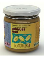 Monki, Erdnussmus (geröstet u. gesalzen), 330g Glas