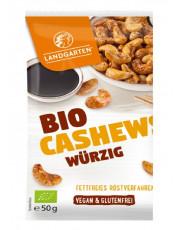Landgarten, Bio-Cashews würzig, 50g Beutel