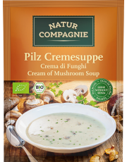 Natur Compagnie, Pilzcremesuppe, 40g Beutel