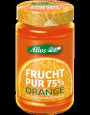 Allos, Frucht pur Orange, 250g Glas