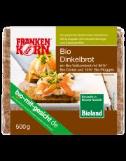 FrankenKorn, Dinkelbrot, geschnitten, 500g Packung