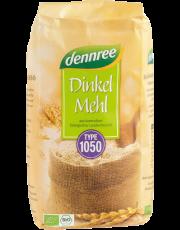 dennree, Dinkelmehl Typ 1050, 1 kg Packung