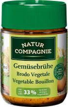Natur Compagnie, Gemüsebrühe mit 33% Gemüse, 100g Glas
