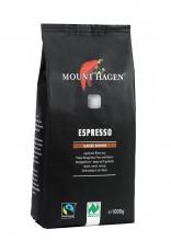 Mount Hagen, Espresso, ganze Bohne, 1kg Packung