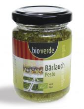 bio verde, Bärlauch-Pesto, 125ml Glas