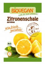 Biovegan, geriebene Zitronenschale, 9g Beutel