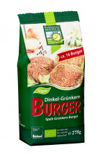 Bohlsener Mühle, Dinkel-Grünkern Burger, 275g Packung
