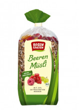 Rosengarten, Beeren-Müsli, 750g Packung