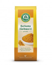 Lebensbaum, Kurkuma (Gelbwurz), gemahlen, 50g Packung