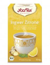 Golden Temple, Yogi Tea Ingwer Zitrone Tee, 1,8g, 17 Btl Packung