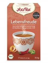 Golden Temple, Yogi Tea Lebensfreude Tee, 1,8g, 17 Btl Packung