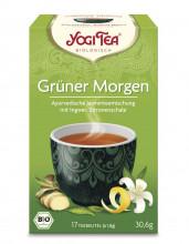 Golden Temple, Yogi Tea Grüner Morgen Tee, 1,8g, 17 Btl Packung