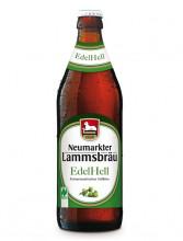 Neumarkter Lammsbräu, Edel Hell, 0,5l incl. 0,08 EUR Pfand, Flasche