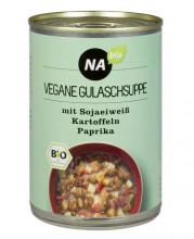 NAbio, vegane Gulaschsuppe, 400g Dose