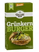 Bauckhof, Grünkern-Burger, demeter, 160g Packung