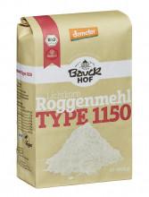 Bauckhof, Roggenmehl Type 1150, demeter, 1kg Packung