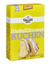 Bauckhof, Dinkel-Zitronenkuchen, demeter, 485g Packung