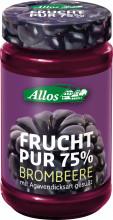 Allos, Frucht pur 75% Brombeere, 250g Glas