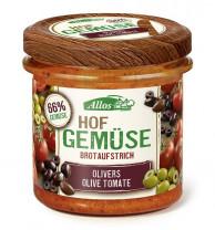 Allos, Hofgemüse Olivers Olive Tomate, 135g Glas