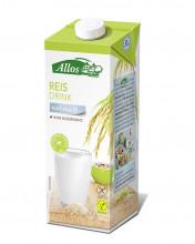 Allos, Reis Drink naturell, 1l Tetra Pack