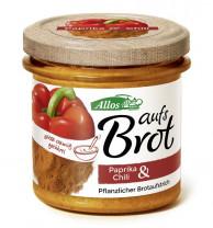 Allos, Auf's Brot Paprika & Chili, 140g Glas