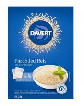 Davert, Parboiled Reis im Kochbeutel, 250g Packung
