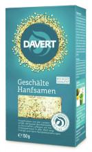 Davert, Geschälte Hanfsamen, 150g Packung