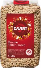 Davert, Braune Linsen, 500g Packung