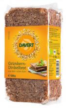 Davert, Grünkern-Dinkelbrot, 500g Packung