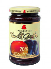 Zwergenwiese, Fruchtgarten Pflaumenmus, 225g Glas