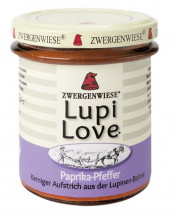 Zwergenwiese, Lupi Love Paprika-Pfeffer, 165g Glas