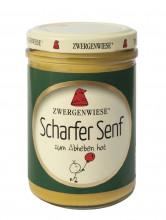 Zwergenwiese, Scharfer Senf, 160ml Glas