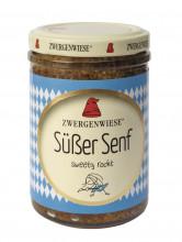 Zwergenwiese, Süßer Senf, 160ml Glas