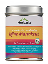 Herbaria, Tajine Marrakesch, Marokkanisches Gewürz, 100g Dose