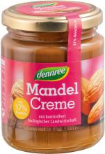 dennree, Mandel Creme, 250g Glas