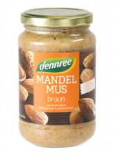 dennree, Mandelmus braun, 350g Glas