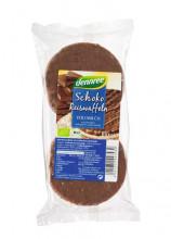 dennree, Reiswaffeln mit Vollmilchschokolade, 100g Packung