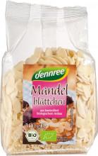dennree, Mandelblättchen, 100g Packung