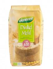 dennree, Dinkelmehl Typ 630, 1kg Packung